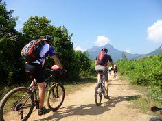 Off road to Nong Kiau in Laos, Hanoi to Laos Mountain Bike Epic, Vietnam, with KE Adventure Travel, https://www.keadventure.com/holidays/vietnam-laos-cycling-sapa