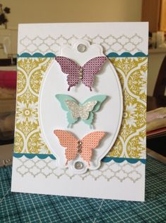 Papillon Potpourri by Heather Beck - Cards and Paper Crafts at Splitcoaststampers