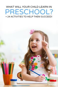 What Do Kids Learn in Preschool + 24 Activities to Help Them Succeed at B-Inspired Mama - Sponsored by #Childtime #BacktoSchool