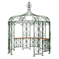 Image result for iron gazebo
