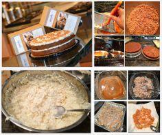 Pina Colada Cake made with Nourishe Cinnamon Raisin Muffin & Cake Mix  http://nourishe.me/blogs/main/12229669-escape-the-cold-with-a-taste-of-the-tropics