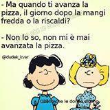 #pizza #RicetteTraAmiche #dieta #mangiare #ottobre #venerdì #avanzi