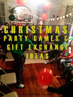 Christmas Games to play for gift exchanges or large gatherings at Christmas with family and friends. Office/work place Christmas games ideas, too! Christmas Games To Play, Christmas Gift Exchange Games, Adult Christmas Party, Office Christmas Party, Christmas Party Themes, Family Christmas Gifts, Christmas Ideas, Christmas Skirt, Crochet Christmas