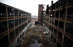 Packard Factory, Detroit, Michigan. #Revolution