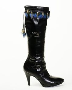 BootDazzles Jan - looks great both on knee high boot and bootie styles.