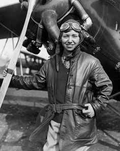 Behind the madcap, pinup quality of pictures taken in the 1920s and 1930s of female pilots were stories of great courage, tenacity and heroism.