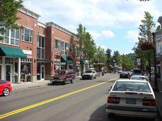 Main Street, Historic downtown Gresham, Oregon