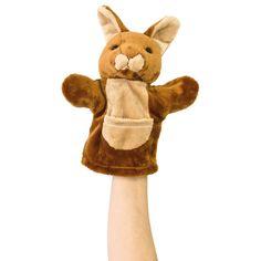 Say hello to this kangaroo hand puppet, an iconic Australian animal.
