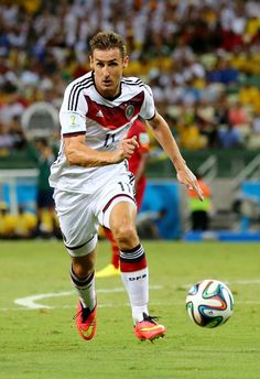 Miroslav Klose broke the record in today's match!