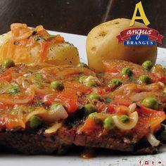 Disfruta en #AngusBrangus #Parrilla #Bar algunas exquisitas recetas que sumamos a nuestro menú. Hoy sugerimos, Sobrebarriga a la Criolla; delicioso!!!   Info. y reservas: 2321632. www.angusbrangus.com.co  #Medellín #gastronomía #restaurantes