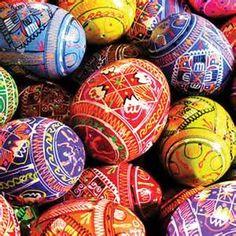 Ukrainian Easter Eggs - Bing images