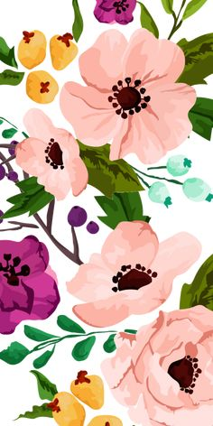 #Fancy #Floral #Print. #Casetify #iPhone #Art #Design #Illustration #Flowers #flowerswallpaper