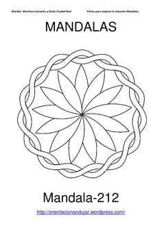 Mandalas for Kids | coloring pages and images | Simple mandala