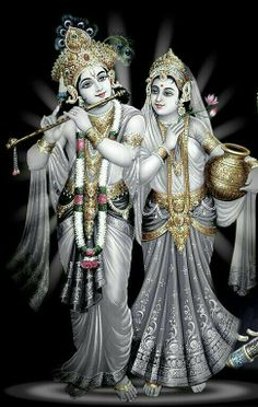 """""""Lord Kṛṣṇa, the Supreme Personality of Godhead who appeared as the son of Nanda Mahārāja, is the supreme hero in all dealings. Similarly, Śrīmatī Rādhārāṇī is the topmost heroine in all dealings."""" CC Madhya 23.66"""