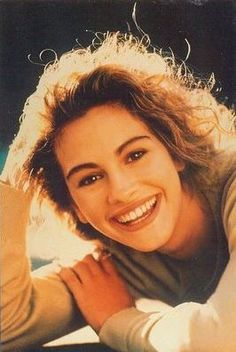 Julia Roberts has the most admiring smile.
