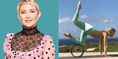How Using a Yoga Wheel Like Kate Hudson Can Help You Stretch More Deeply