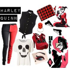 U0026quot;Harley Quinnu0026quot; by mati-f-jones on Polyvore | Character Clothes/Inspired By Clothes | Pinterest ...