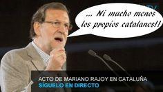 """Enjoy Rajoy Deu no El País online 29-11-2014:  Rajoy: """"Nadie tiene derecho de hablar en nombre de Cataluña"""""""