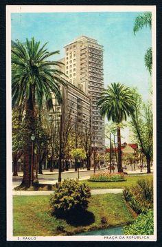 Republica Square - Sao Paulo, Brazil