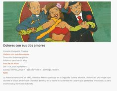 Cartelera DF: Dolores con sus dos amores. Comedia y teatro de ép...