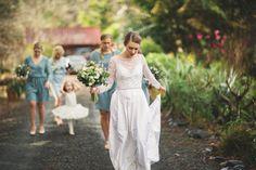 Wedding Dress - New Zealand wedding Photography www.jamesbroadbent.co.nz