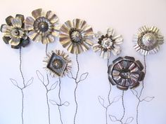 Tin Flowers                                                                                                                                                                                 More