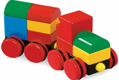 Brio Magnetic Stacking Train Build a fine wooden train Each part has a built-in magnet that makes it easier to build and have http://www.comparestoreprices.co.uk/educational-toys/brio-magnetic-stacking-train.asp
