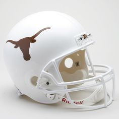 Riddell Texas Longhorns Collectible Replica Helmet, White