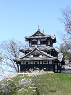 Japanese castle -takada