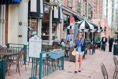 Blogger @polishedavenue wears Gap Factory eyelet shorts.
