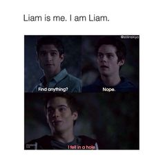 I know that if I wasin teen wolf. I probably wouldnt be stiles cause I am not that smart or lydia cause I am not that beautiful but liam. I could be liam.--- Liam makes me laugh sm omg lol Teen Wolf Memes, Teen Wolf Quotes, Teen Wolf Funny, Stiles Teen Wolf, Teen Wolf Dylan, Teen Wolf Cast, Dylan O'brien, Mtv, Teenage Girl Gifts Christmas