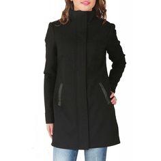 Palton Dama VERO MODA Judit Black Jacket Dresses For Work, Jackets, Black, Fashion, Down Jackets, Moda, Black People, Jacket, Fasion