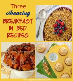 What will you get mom this Mother's Day? Impress her with one of these easy and amazing breakfast in bed #recipes!