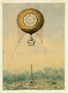 Dirigible, steampunk