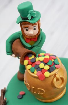 St Patrick S Day Theme Groom S Cake St Patricks Day