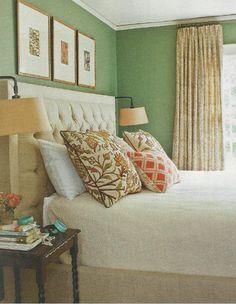 Fran Keenan master bedroom Southern Living Jan 2012