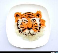 Beeindruckende Essens-Kunst #18