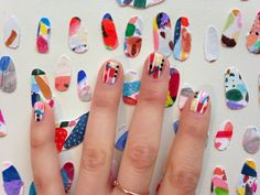NAIL PAINTINGS by Hillery Sproatt