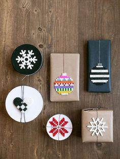 """Ur tidningen Lantliv: """"Vi gillar pysselbloggen Craft & Creativity som har många inspirerande idéer för december"""""""