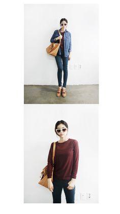 - Korean look -