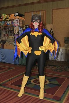 Batgirl Costume Cosplay by on deviantART Batgirl Cosplay, Batgirl Costume, Comic Con Cosplay, Cosplay Outfits, Cosplay Costumes, Halloween Costumes, Kid Costumes, Fantasy Model, Artists And Models