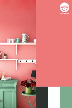 We're dreaming of celebrating in a freshly painted kitchen. Our color of the month guava pairs perfectly with our vision. Painting Kitchen Cabinets, Kitchen Paint, Kitchen Makeovers, Interior And Exterior, Paint Colors, Wedding Decorations, Budget, Pairs, Houses