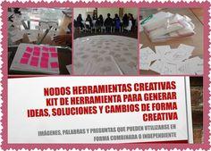 Capacitaciones con Nodos Herramientas Creativas en varios países de Latinoamérica