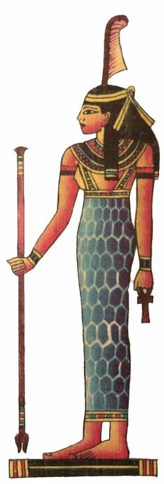 """Ma'at is the Egyptian concept of truth, balance, & justice; personified by the goddess called Ma'at. It is said that at the very moment of creation, the primordial waters from which all things arose spoke to Ra. They told him to """"breathe ma'at"""" so that hi Egyptian Mythology, Egyptian Goddess, Ancient Egyptian Art, Maat Goddess, Egyptian Queen, Fractal, Divine Mother, African History, Gods And Goddesses"""