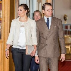 Queens & Princesses - Princess Victoria and Prince Daniel attended a seminar of their foundation, which was held at the Royal Palace in Stockholm.