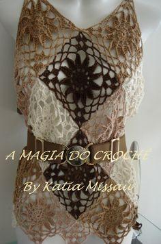 LA MAGIA DE Crochet: Blusa Iris