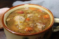 Instant Pot Cock-a-Leekie Soup