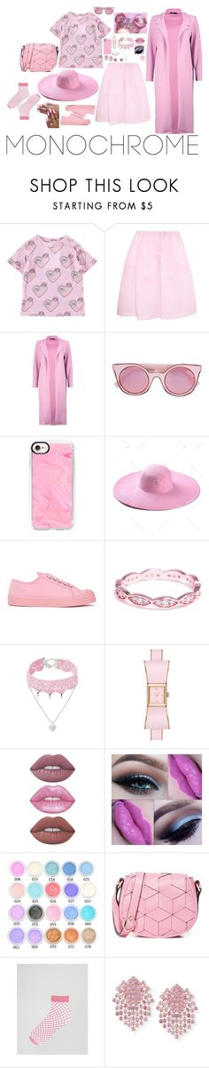 """""""S O F T 🌸"""" by kamfam-2020 ❤ liked on Polyvore featuring Simone Rocha, Boohoo, Fendi, Casetify, Novesta, Evie & Emma, Design Lab, Lime Crime, Welden and ASOS"""