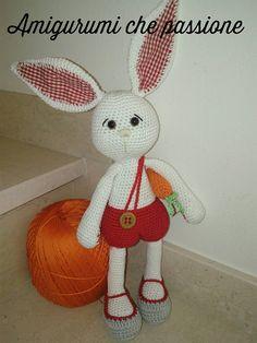 coniglio amigurumi