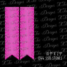 Cheer Bow Rhinestone Template Download - SVG by TCTeeDesigns on Etsy